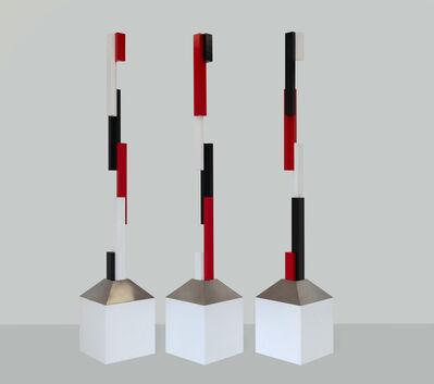 Nigel Lendon, 'Broken Colmn: a triptych 2018:1', 2018