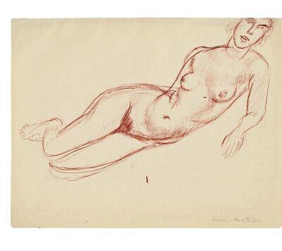 Henri Matisse, 'Nu allongé vers la droite'