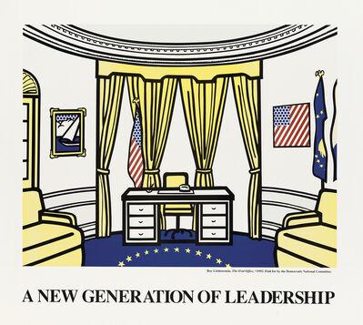 Roy Lichtenstein, 'A NEW GENERATION OF LEADERSHIP', 1992