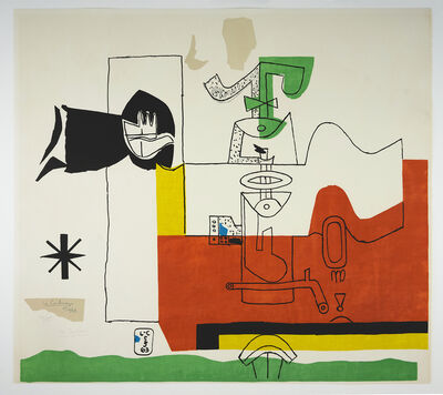 Le Corbusier, 'Totem (hand-signed)', 1963