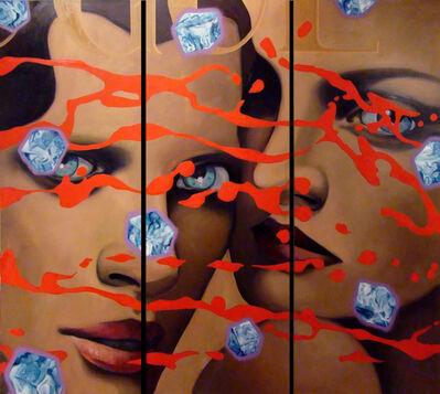 Manzur Kargar, 'Ice Cubes', 2010