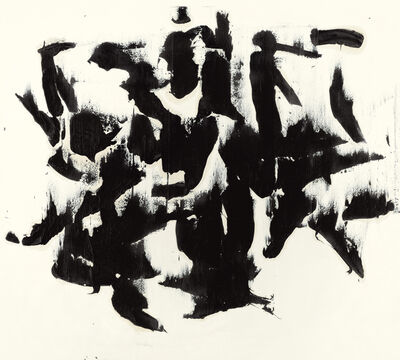Judit Reigl, 'Mass writing', 1964
