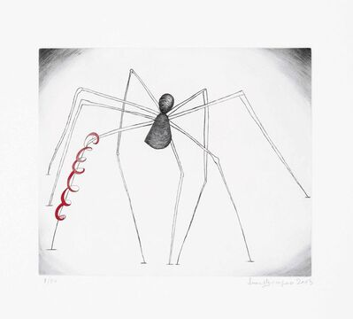 Louise Bourgeois, 'Untitled (Spider and Snake)', 2003