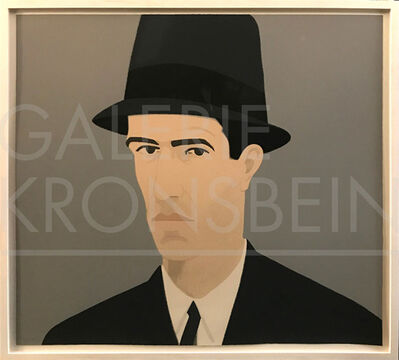 Alex Katz, 'Alex Katz, Self-Portrait (Passing), (Ada and Alex Portfolio)', 1990