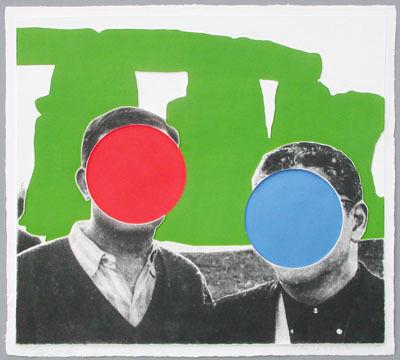 John Baldessari, 'Stonehenge Green', 2005