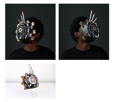 Cyrus Kabiru, 'Macho Nne The Black Magic (Diptych)', 2018