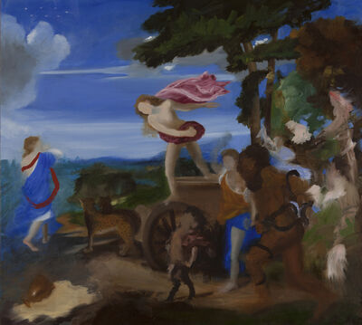 Elise Ansel, 'Bachus and Ariadne III, (after Titian)', 2015