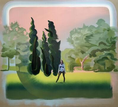 Andrew Fish, 'Cypress Trees', 2018