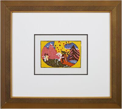 Wassily Kandinsky, 'Berge from Klange Catalog Raisonne Hans Roethel #122', 1911