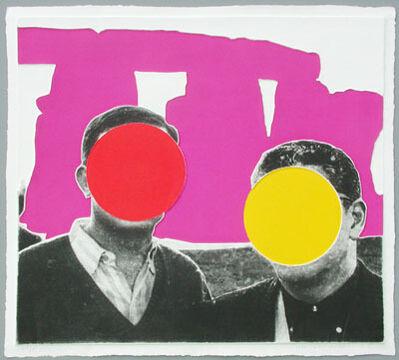 John Baldessari, 'Stonehenge purple', 2005