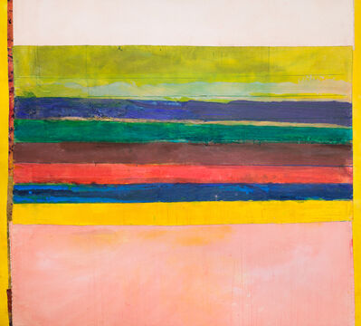 Frank Bowling, 'About Yellow', 2013