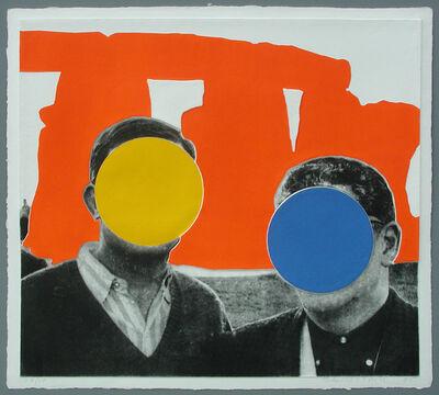 John Baldessari, 'Stonehenge Orange', 2005