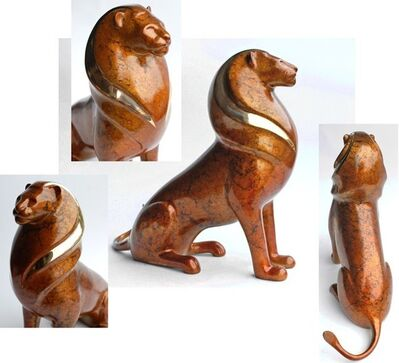 Loet Vanderveen, '#519 - Serengeti Lion'