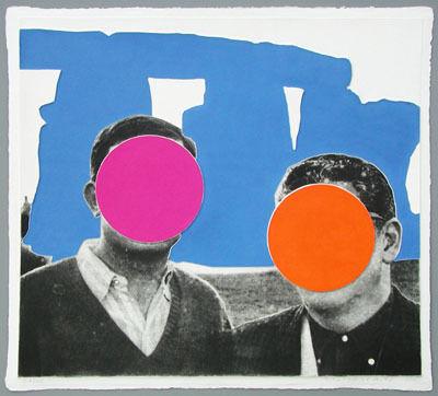John Baldessari, 'Stonhenge Blue', 2005