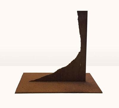 Erich Reusch, 'Modell für eine Skulptur aus Corten-Stahl - asymmetrischer Winkel', 1992