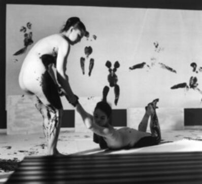 Yves Klein, 'Performance 'Anthropometries of the Blue Epoch'  ', March 9-1960