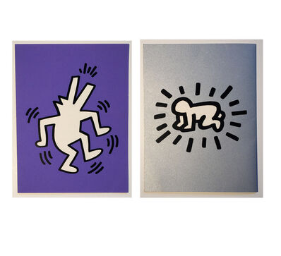 "Keith Haring, '""Memorial Tribute Invitation- Honoring Keith Haring"", 1990, St. Patrick's Cathedral NYC', 1990"