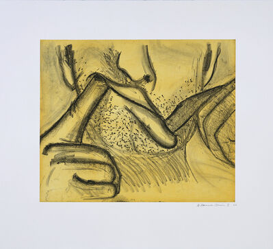 Bruce Nauman, 'Soft Ground Etching - Yellow', 2007