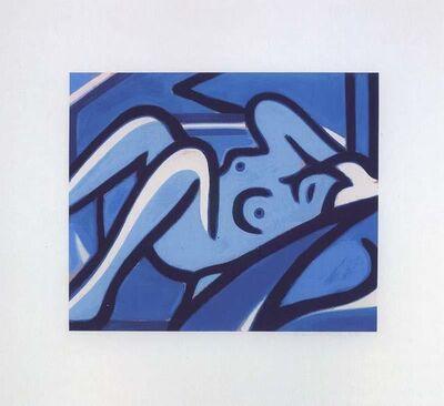 Tom Wesselmann, 'Blue Nude', 2000