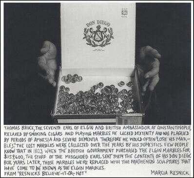 Marcia Resnick, 'Elgin Marbles', 1979 (November 8)