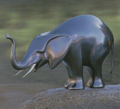 Loet Vanderveen, '#199 Feeding Elephant'