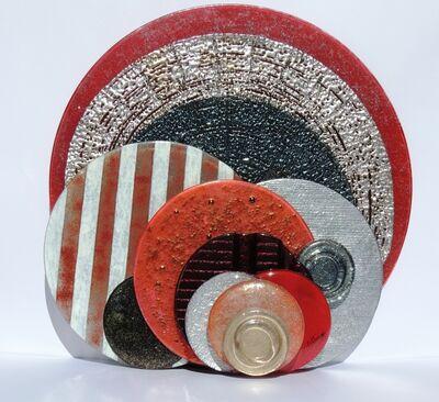 Janine Altman, 'Textured Circles', 2013