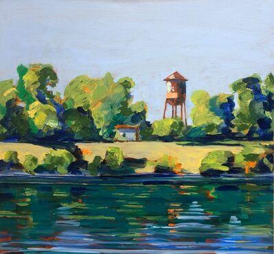 Anthony Montanino, 'Water Tank on the Riverwalk', 2019