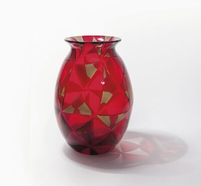 Ercole Barovier, 'A vase from 'Intarsio' series', 1962