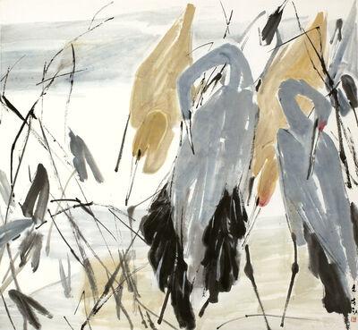 Chen Wen Hsi, 'Egrets'