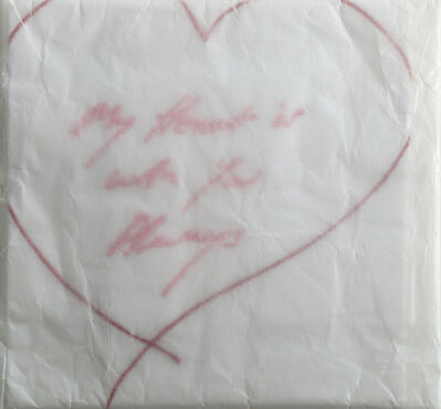 Tracey Emin, 'My Heart Is With You Always', 2015