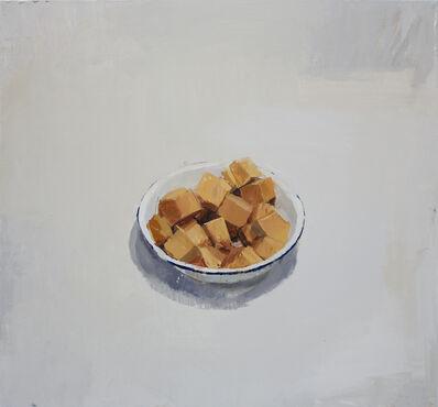 Alberto Romero, 'cuenco con trozos de calabaza', 2013