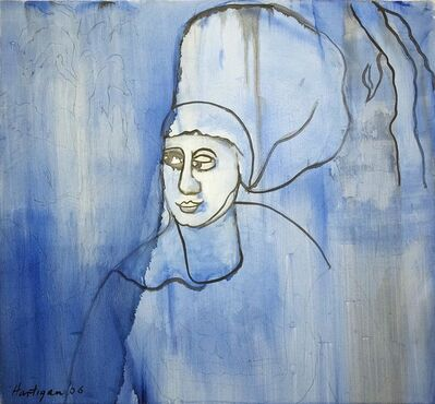 Grace Hartigan, 'Blue 16th Century Woman', 2006