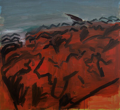 Simon Carter, 'Burnt Gorse', 2011