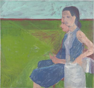Richard Diebenkorn, 'Women Outside', 1957