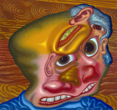 Peter Saul, 'Panic Attack in the Lumber Yard', 2007