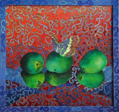 Daniele Akmen, 'Trois Pommes', 1999