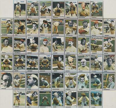 Donald Dennis Celender, 'Artball Trading Cards', 1971