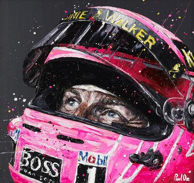 Paul Oz, 'Jenson Button', 2015