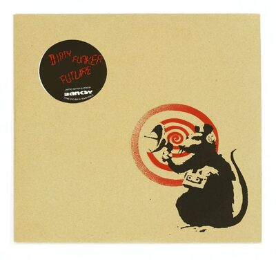 After Banksy, 'RADAR RAT VINYL (RED/BROWN)', 2008