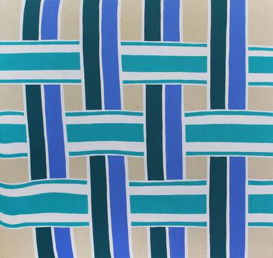 Stephen D'Onofrio, 'Lawn Chair (Blue)', 2017