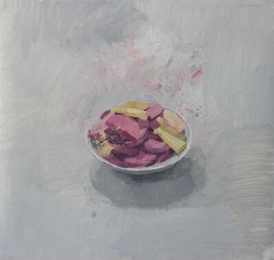 "Alberto Romero, '""Cuenco con fiambre y queso""', 2017"