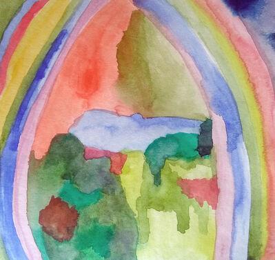 Paola Vega, 'Delaunay, Robert. Rainbow. Oil on canvas.87,8x99,9cm.1913', 2018