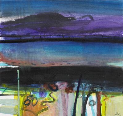 Barbara Rae, 'Purple Mountain '
