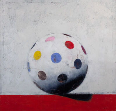 John Stuart Gibson, 'Small Dots with Red', 2016