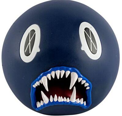 KAWS, 'Cat Teeth Bank (Navy Blue)', 2007
