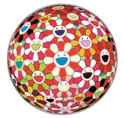 Takashi Murakami, 'Flower Ball Goldfish Colors', 2010