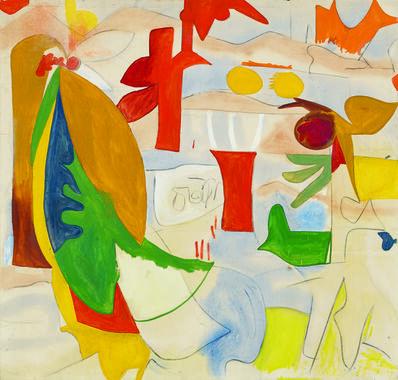Helen Frankenthaler, 'Abstract Landscape', 1951