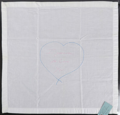 Tracey Emin, 'I Promise To Love You', 2012