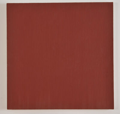 Marcia Hafif, 'English Red (Red Paintings)', 1997