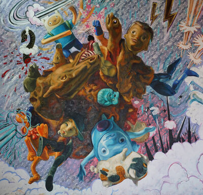 Miguel Alejandro Machado, 'Beyond Toy Stories 4', 2017